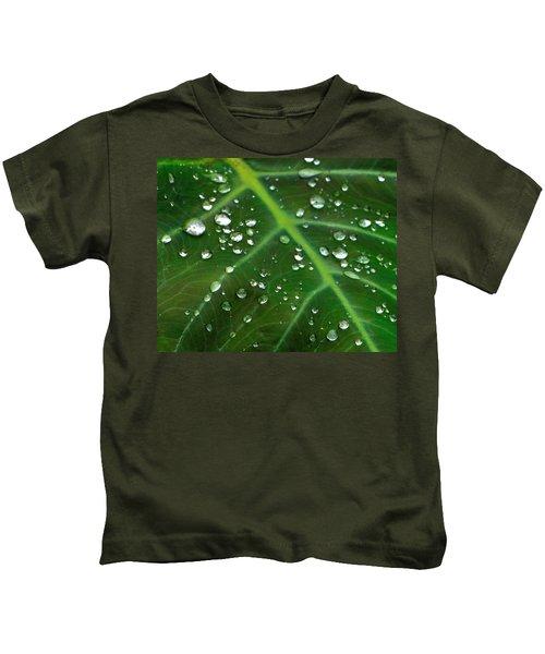 Hanging Droplets Kids T-Shirt