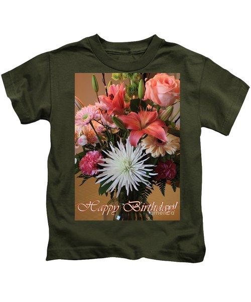 Happy Birthday Card Kids T-Shirt