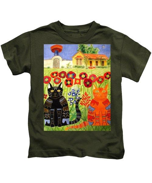 Happy Cats Kids T-Shirt