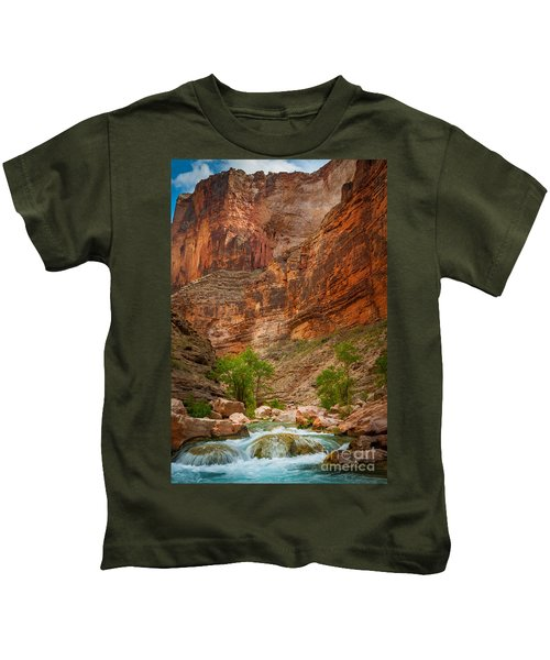 Havasu Creek Number 3 Kids T-Shirt