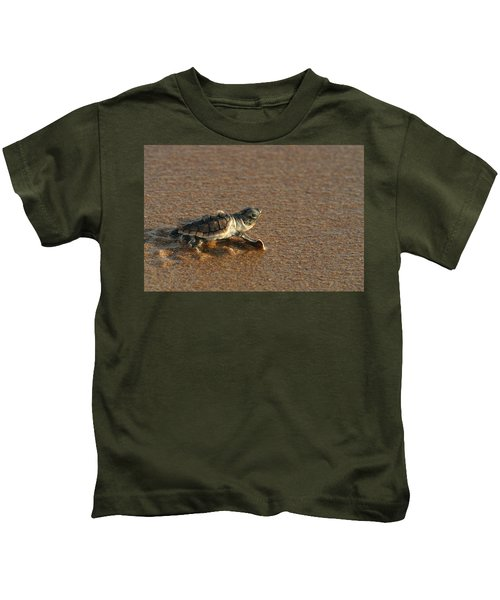 Heading Out To Sea Kids T-Shirt