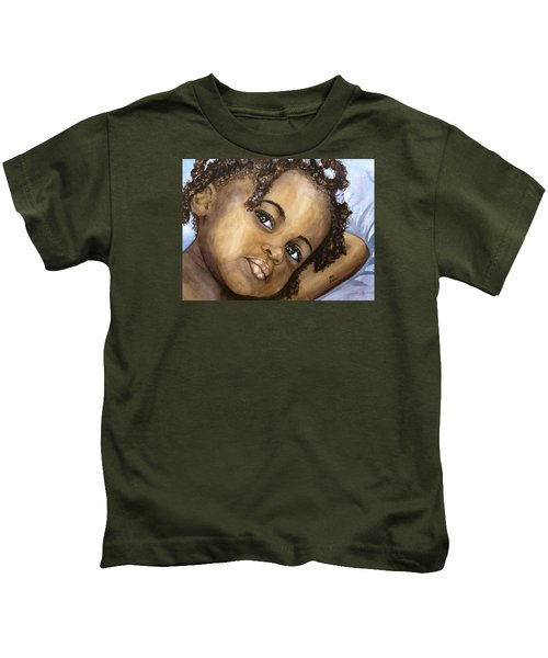 Nigerian Eyes Kids T-Shirt