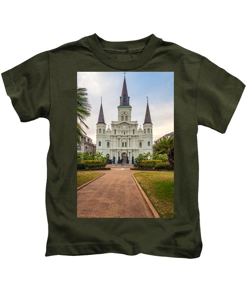 Heart Of The French Quarter Kids T-Shirt