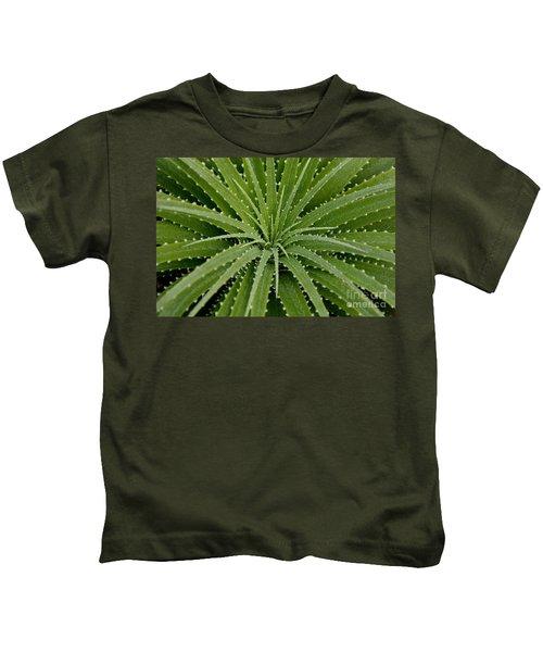 Hechtia Argentea Kids T-Shirt