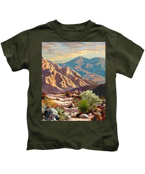 High Desert Wash Portrait Kids T-Shirt