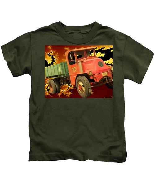 High Flying Mack Kids T-Shirt