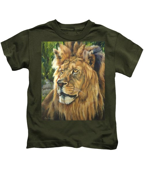 Him - Lion Kids T-Shirt