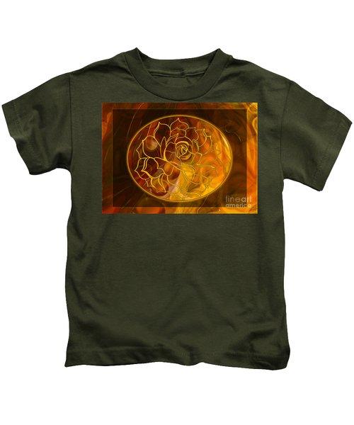 Hope Springs Eternal Abstract Healing Art Kids T-Shirt