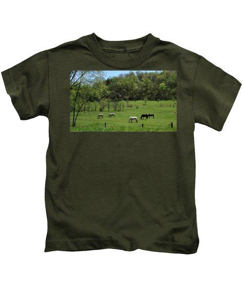 Horse 27 Kids T-Shirt
