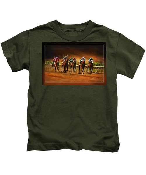 Horse's 7 At The End Kids T-Shirt