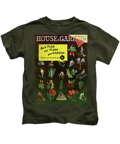 House And Garden How To Plan And Plant Kids T-Shirt