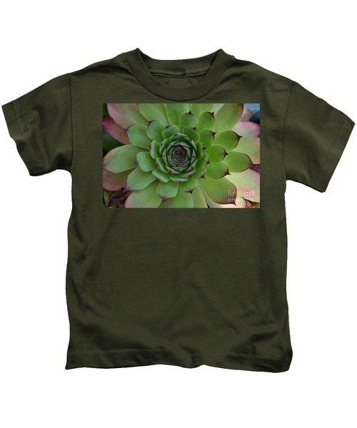 Houseleek Sempervivum Kids T-Shirt