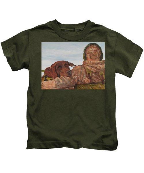 Hunting Boyfriend Kids T-Shirt