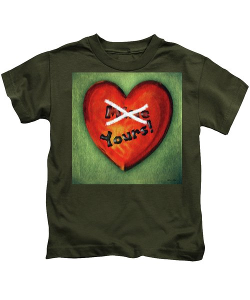 I Gave You My Heart Kids T-Shirt