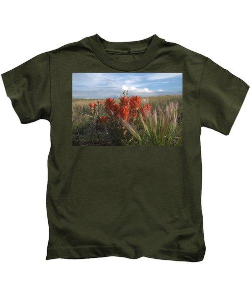 Indian Paintbrush Kids T-Shirt