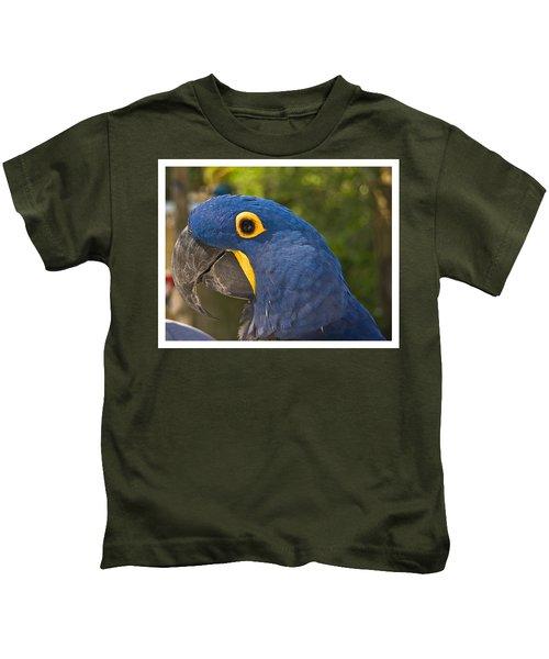 Indigo Macaw Kids T-Shirt