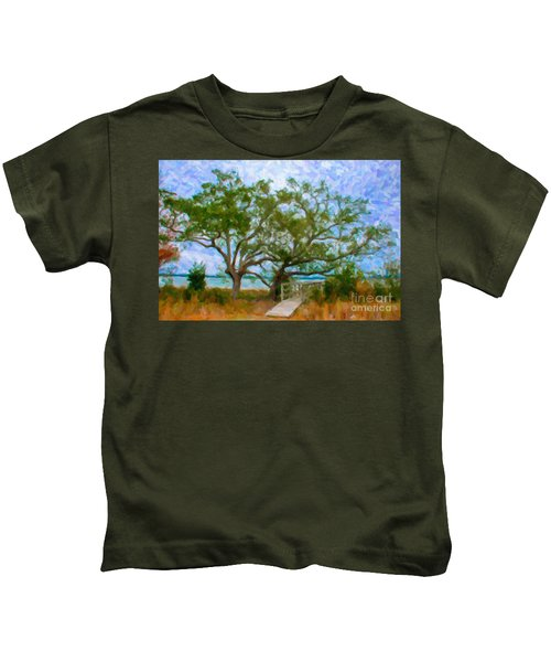Island Time On Daniel Island Kids T-Shirt