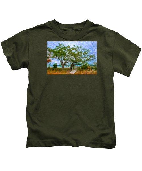 Island Time On Daniel Island Kids T-Shirt