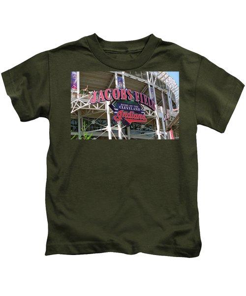 Jacobs Field - Cleveland Indians Kids T-Shirt