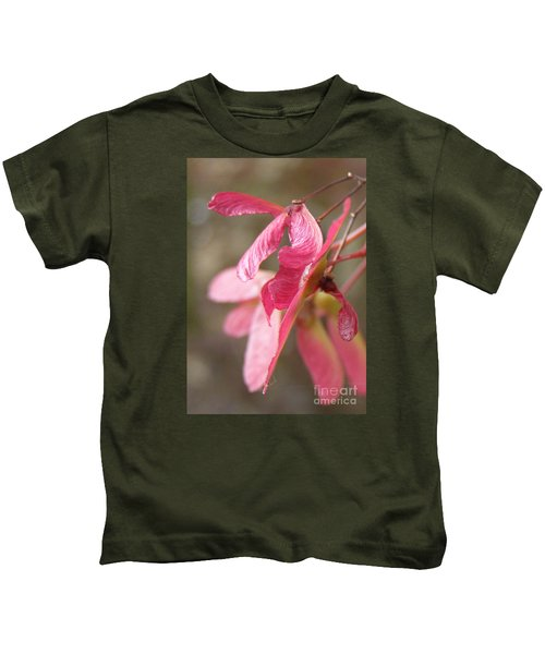 Japanese Maple Keys Kids T-Shirt
