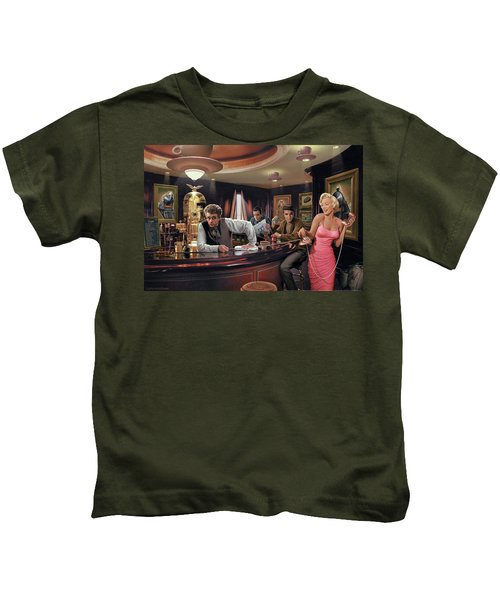 Java Dreams Kids T-Shirt by Chris Consani