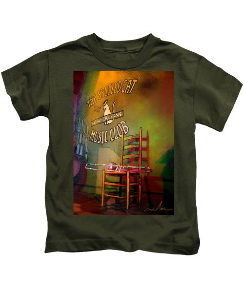 Jazz Break In New Orleans Kids T-Shirt
