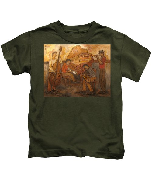 Jazz Quartet Kids T-Shirt