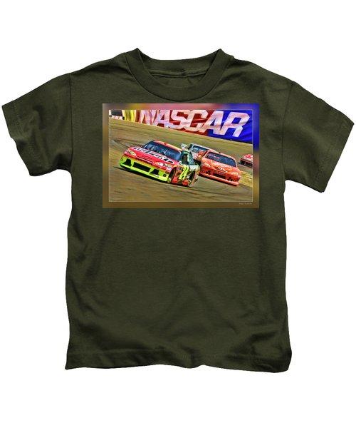 Jeff Gordon-nascar Race Kids T-Shirt