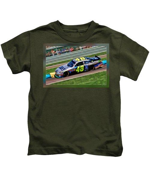 Jimmie Johnson Kids T-Shirt