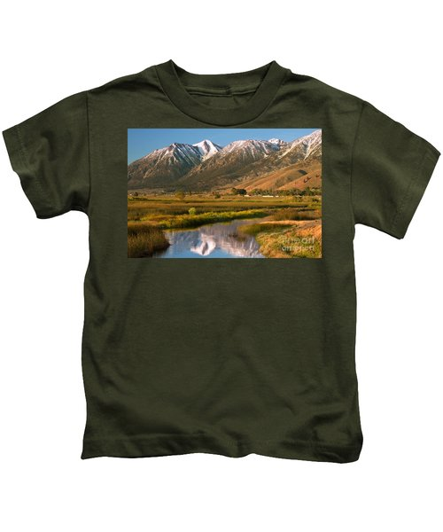 Job's Peak Reflections Kids T-Shirt