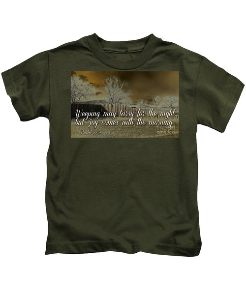 Joy In The Morning Kids T-Shirt