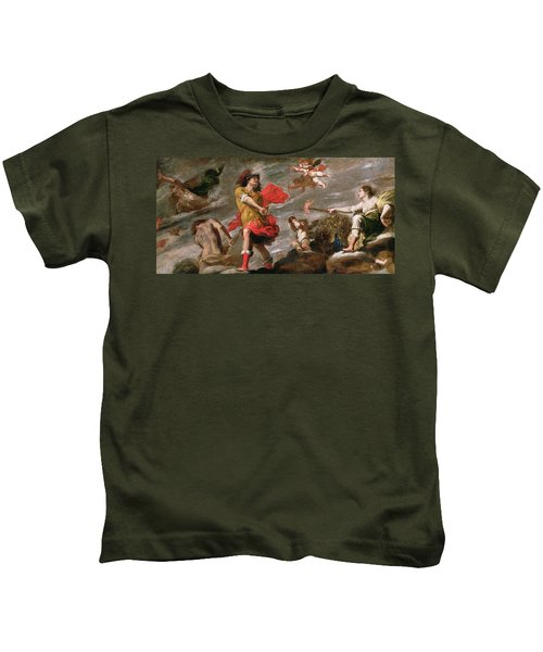 Juno And Mars, C.1650 Kids T-Shirt