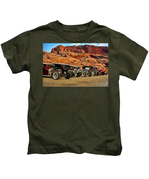 Kansas City Rat Rods And Hot Rods Kids T-Shirt