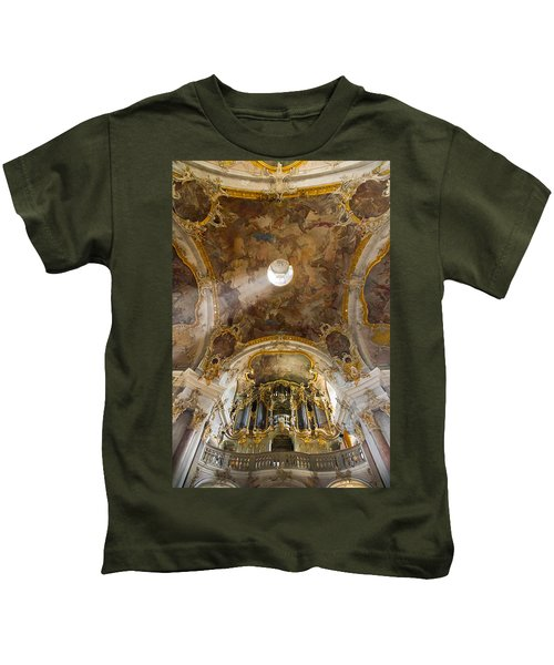 Kappele Wurzburg Organ And Ceiling Kids T-Shirt