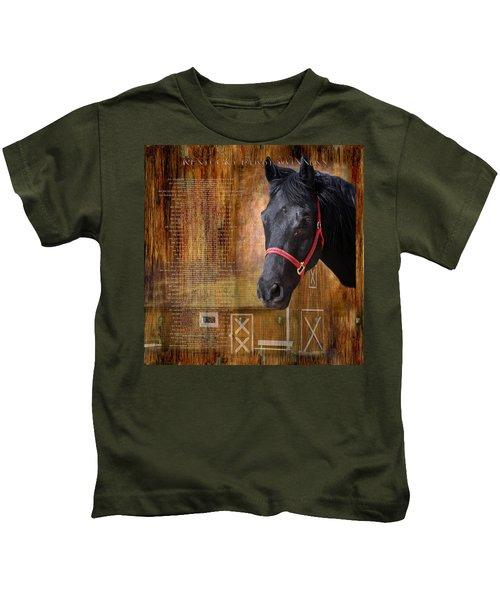 Kentucky Derby Winners Kids T-Shirt