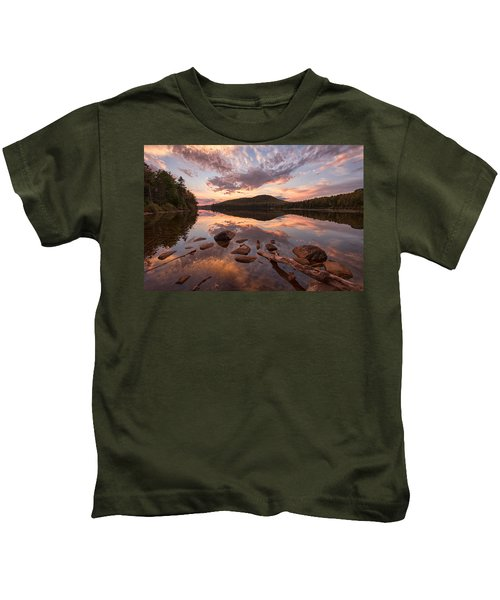 Kettle Pond Sunset Kids T-Shirt