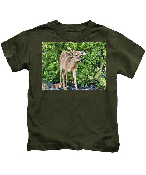 Key Deer Cuteness Kids T-Shirt