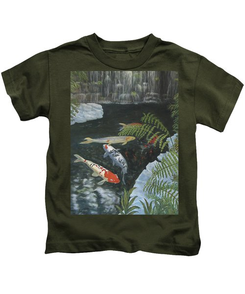 Koi Fish Kids T-Shirt