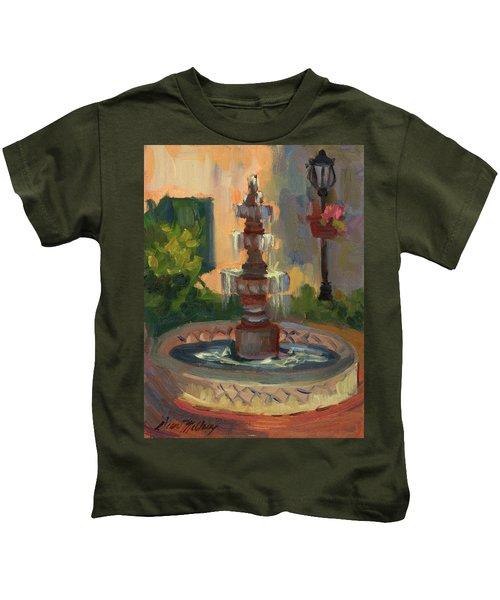La Quinta Resort Fountain Kids T-Shirt