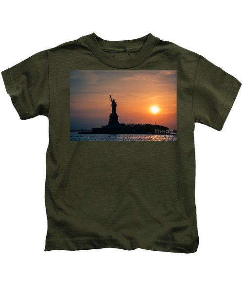 Lady Liberty Kids T-Shirt