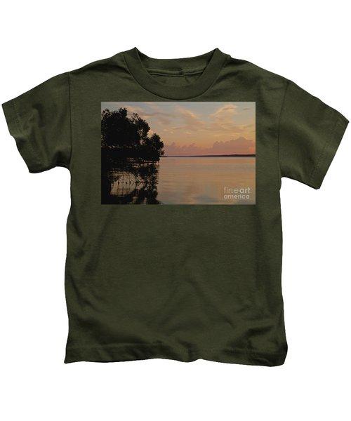 Lake Sunrise Kids T-Shirt