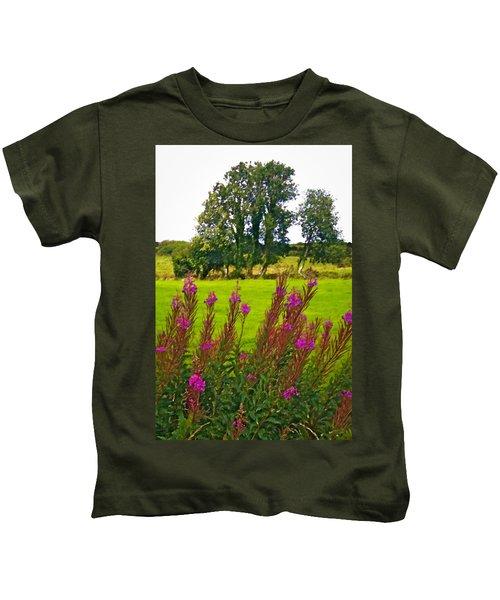 Lanna Fireweeds County Clare Ireland Kids T-Shirt
