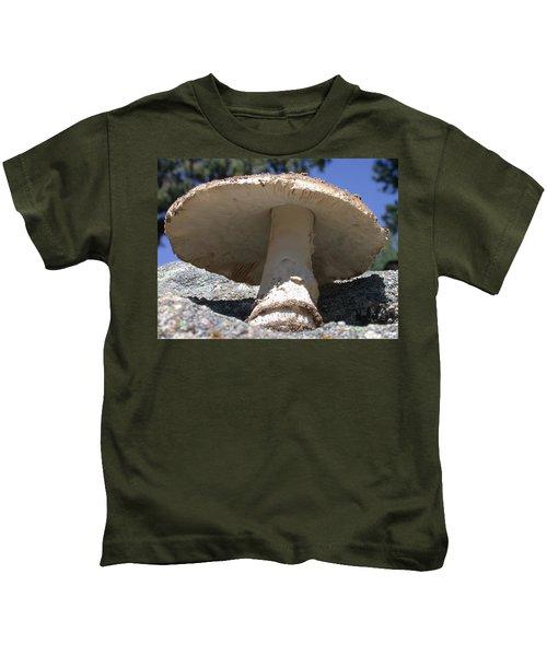 Large Mushroom Kids T-Shirt