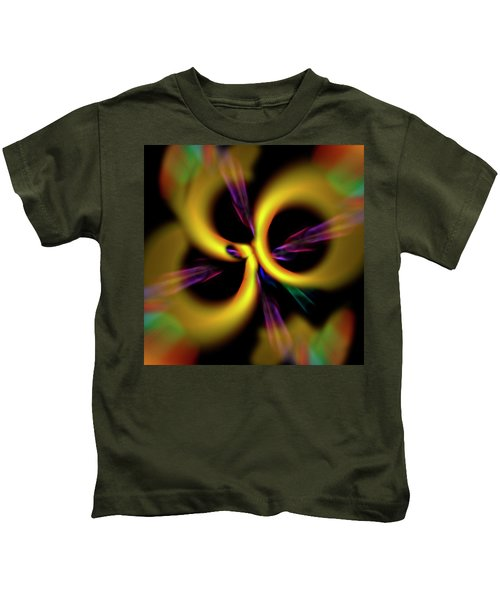 Laser Lights Abstract Kids T-Shirt