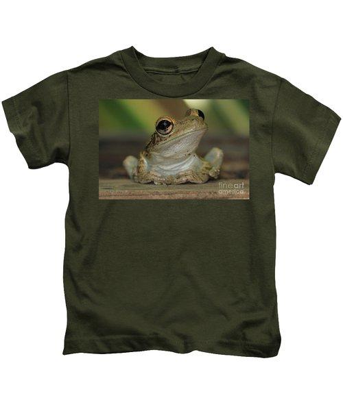 Let's Talk - Cuban Treefrog Kids T-Shirt