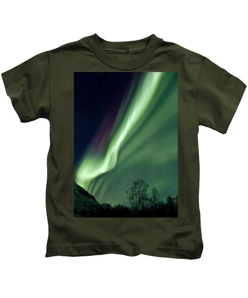Light In The Sky Kids T-Shirt