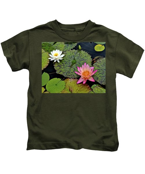 Lilies And Pads Kids T-Shirt