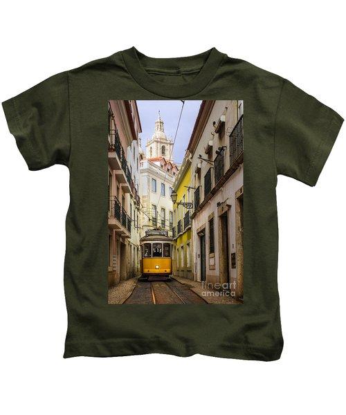Lisbon Tram Kids T-Shirt