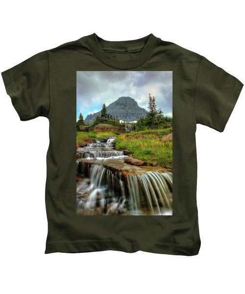Logan Cascades Kids T-Shirt