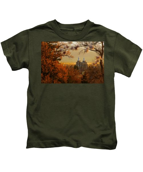 Logan Temple Kids T-Shirt